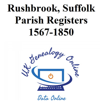 Rushbrook Parish Registers 1567-1850