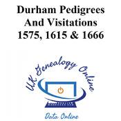 Durham Pedigrees And Visitations 1575, 1615 & 1666