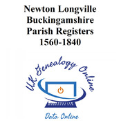 Newton Longville Buckingamshire Parish Registers 1560-1840