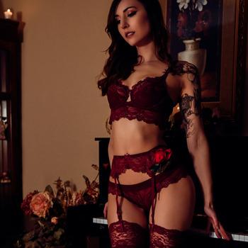 Valentine's moody boudoir