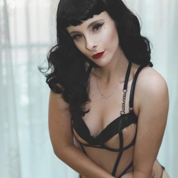 Sheer Bodysuit Bettie Paige