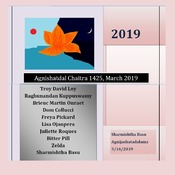 Agnishatdal Boisakh 1425, April 2019