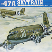 C-47A Skytrain Model: How to build Trumpeter's 1/48 scale C-47A Skytrain Model