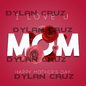 I love U Mom (Mother's Day or anytime!)