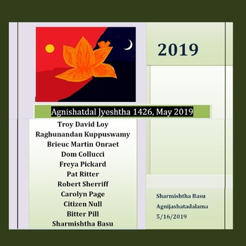 Agnishatdal Jyeshtha 1426, May 2019