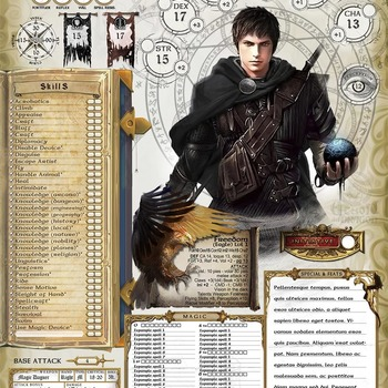 Pathfinder(1.0) English Character Sheet