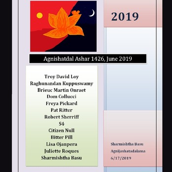 Agnishatdal Ashar 1426, June 2019