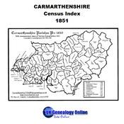 Carmarthenshire 1851 Census Index