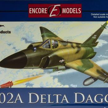 F-102A Delta Dagger Model