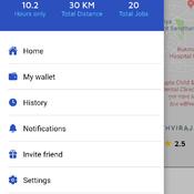 Uber Drive App Clone
