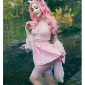 Cherry Blossom Kitty Fashion