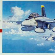 F/A-18F Super Hornet Model
