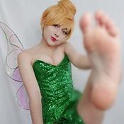 Tinkerbell Foot Set