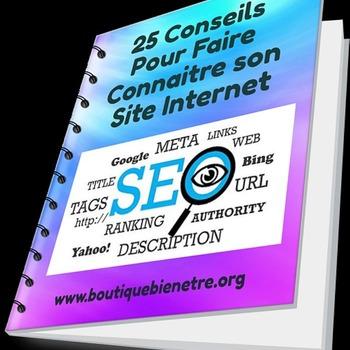 25 Conseils pour Faire Connaître son Site Internet