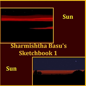Sharmishtha Basu's Sketch Book 1 Sun