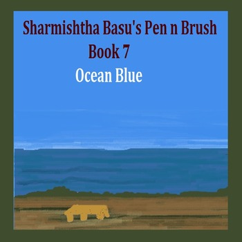 Sharmishtha Basu's Pen n Brush book 7 ocean blue