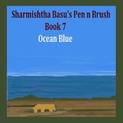 Sharmishtha Basu's Pen n Brush book 7 ocean blue
