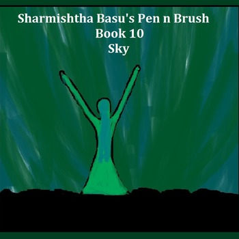 Sharmishtha Basu's Pen n Brush Book 10 sky