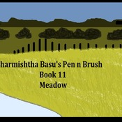 Sharmishtha Basu's Pen n Brush Book 11 meadow
