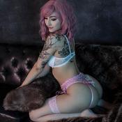 Pink & White Boudoir
