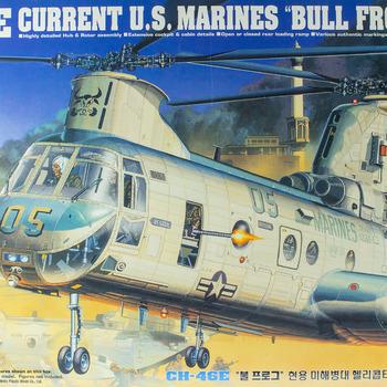 CH-46E Sea Knight Model