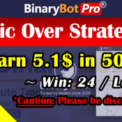 [Binary Bot Pro] Epic Over Strategy (1-Jul-2020)