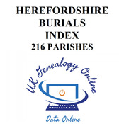 Herefordshire Burial Indexes
