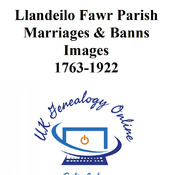 Llandeilo Fawr Marriages & Banns Images