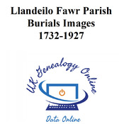 Llandeilo Fawr Parish Register Images