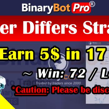 [Binary Bot Pro] Hacker Differs Strategy (14-Jul-2020)