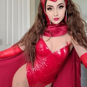 Scarlet Witch Cosplay Set
