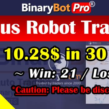 [Binary Bot Pro] Genius Robot Trading (28-Jul-2020)
