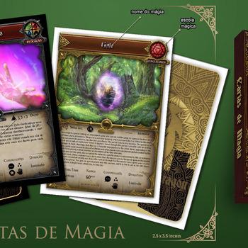 Cartas de magia D&D5 (pt)