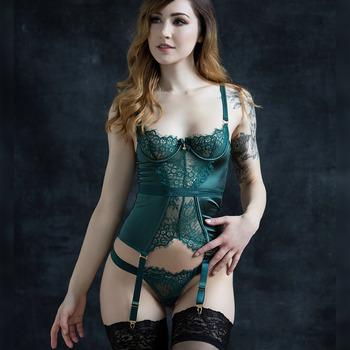 Emerald Boudoir