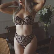 Honey Birdette Leopard Set