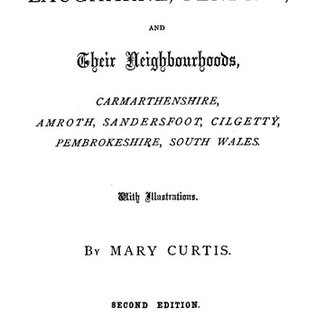 Antiquities of Laugharne - Mary Curtis - 1880