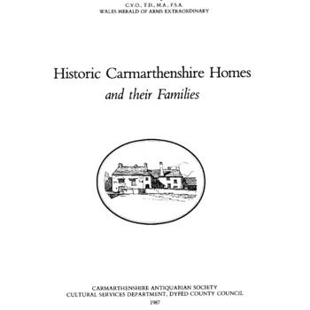 Historical Carmarthenshire Homes