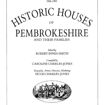 Historical Houses of Pembrokeshire