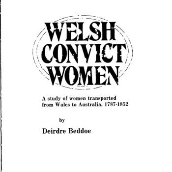 Welsh Convict Women