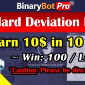 [Binary Bot Pro] Standard Deviation Differs Bot (15-Aug-2020)