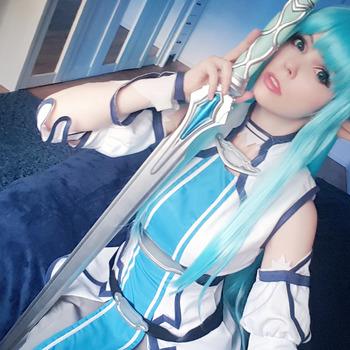 Asuna (Sword Art Online) selfie set