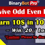 [Binary Bot Pro] Revive Odd Even Bot (30-Aug-2020)