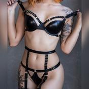 Black Straps 2 (20 photos)