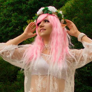 Pink Elf at the Riverside