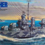 DD445 USS Fletcher Model