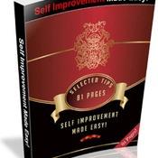 Self-Improvement Made Easy