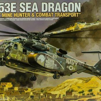 MH-53E Sea Dragon Model