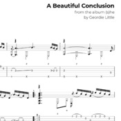 A Beautiful Conclusion (Tab/Notation + mp3)