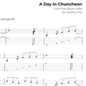 A Day in Chuncheon (Tab/Notation + mp3)