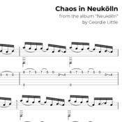 Chaos in Neukölln (Tab/Notation + mp3)